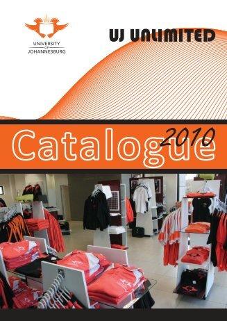 Catalogue - University of Johannesburg