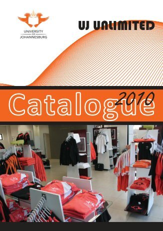 Catalogue - University of Johannesburg