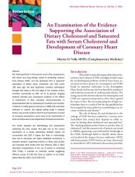 An Examination of the Evidence Supporting the Association of ...