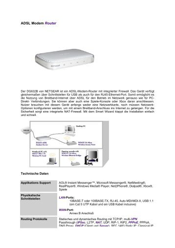 ADSL Modem Router - EBG - Darmstadt