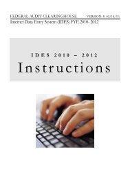 IDES 2010 – 2012 - Census Bureau