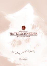 PREISE - Hotel Schneider Obertauern