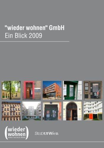 """"""" wieder wohnen """" GmbH"""
