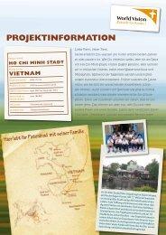 PROJEKTINFORMATION - World Vision