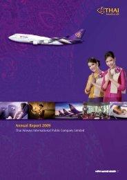 Annual Report 2009 - Thai Airways International Public Company ...