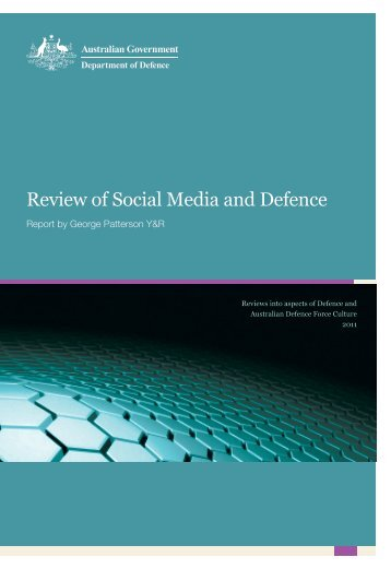 Review of Social Media and Defence