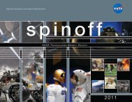 National Aeronautics and Space Administration ... - Spinoff - Nasa