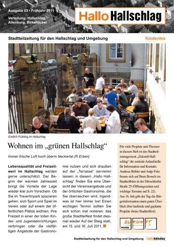 """Wohnen im """"grünen Hallschlag"""" - Zukunft Hallschlag"""