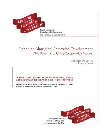 Final Report (pdf) - Centre for the Study of Co-operatives