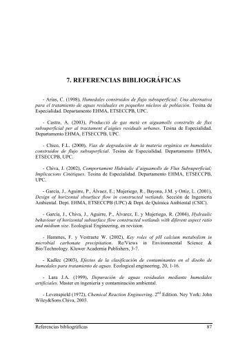 7. REFERENCIAS BIBLIOGRÁFICAS - UPCommons