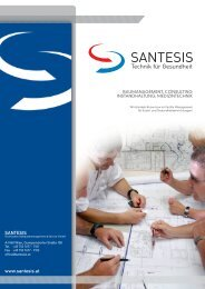 SANTESIS www.santesis.at - Santesis Technisches ...