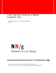 231 Tips and Tricks for a Better Usability Test