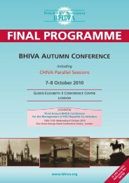 Final Programme - BHIVA
