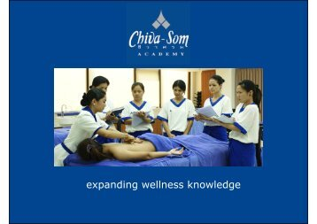 expanding wellness knowledge - Global Spa & Wellness Summit