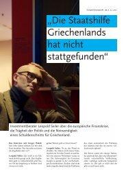 Die Staatshilfe Griechenlands hat nicht stattgefunden - Microfinance.at