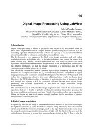 14 Digital Image Processing Using LabView - InTech