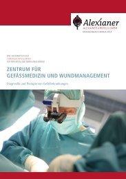 zentrum für gefässmedizin und wundmanagement - Alexianer Krefeld
