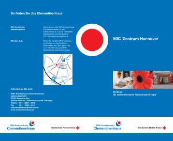 MIC-Zentrum Hannover - Clementinenhaus Hannover
