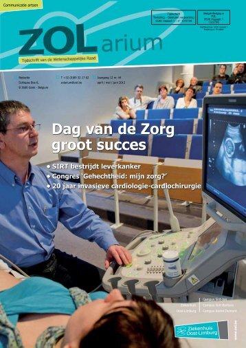 Inhoud klachten - Ziekenhuis Oost-Limburg