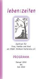 Programm 1 - 2012.indd - lebenszeiten-karlsruhe.de