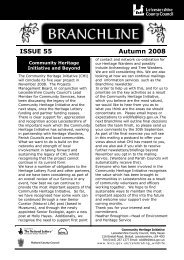 ISSUE 55 Autumn 2008 - Leicestershire County Council
