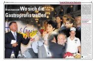 Branchenevent:Wosichdie - Hotellerie et Gastronomie Verlag