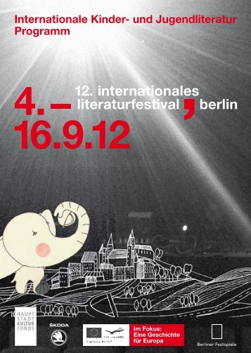Programm 2012 - Internationales Literaturfestival Berlin