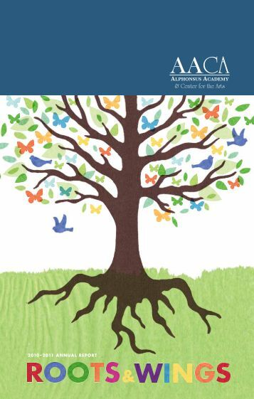 2010–2011 annual report - Alphonsus Academy & Center for the Arts
