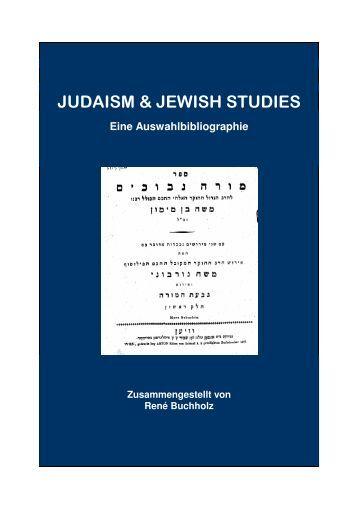 Judaism & Jewish Studies - Universität Bonn
