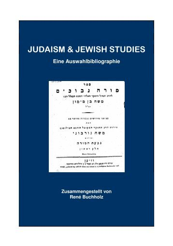 Judaism & Jewish Studies - Universität Bonn