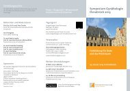 Symposium Gynäkologie Osnabrück 2013 - Endokrinologikum