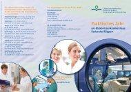 Praktisches Jahr - Diakonissenkrankenhaus Karlsruhe-Rüppurr