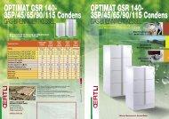 Endkundenprospekt Stand GSR 140 Condens 35-115kW - Oertli