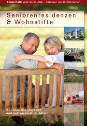 Seniorenresidenzen & Wohnstifte - Pflege in Paderborn