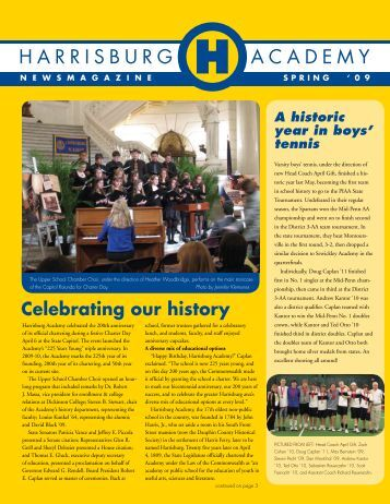 Celebrating our history - Harrisburg Academy