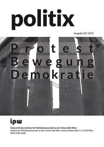 Ausgabe 32 | 2012 - Institut für Politikwissenschaft - Universität Wien