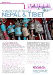 RUNDREISE AM DACH DER WELT NEPAL & TIBET - Preimel Reisen