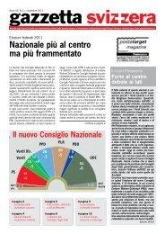 Novembre 2011 - Gazzetta Svizzera