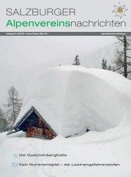 220 Jänner-Februar-März 2011 - Alpenverein Salzburg