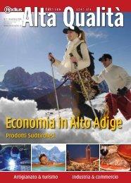 Economia in Alto Adige - Mediaradius