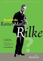 Rainer Maria Rilke - Bertuch Verlag Weimar