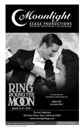 March 4–21, 2010 - Moonlight Stage Productions