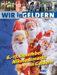dasStadtMagazin Nr. 7|Dezember 2006|Januar 2007 - WIR in Geldern