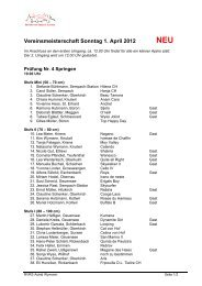 Vereinsmeisterschaft Sonntag 1. April 2012 NEU - Reitverein ...