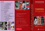 6. Kunsthandwerk zur Weihnachtszeit - Villingen-Schwenningen