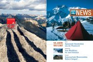 Summit News - 50 Jahre - Historisches AlpenArchiv