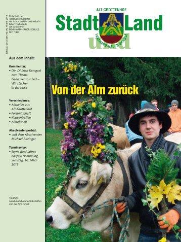 Bericht von Hrn. Dipl.-Päd. Ing. Andreas Sulzer - Land- und ...