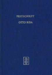 festschrift otto biba - Musikantiquariat und Verlag Prof. Dr. Hans ...
