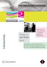 modern - aktuell - Stadtbibliothek am Salzstadel Rosenheim