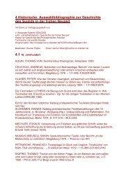 4 Historische: Auswahlbibliographie zur Geschichte des Suizids in ...